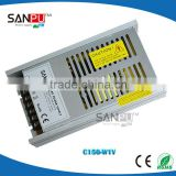 shenzhen sanpu 150W 12v industrial power supply Aluminum Profiles with CE ROHS certification