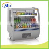Bakery showcase Cool drink display showcase refrigerator storage showcase