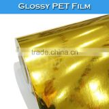 SINO Brush Gold Color PVC Vinyl Film For Cutting Car Decal Sticker