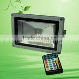 RGB LED Flood Light 20W,color changing,3 years warranty,IP65,CE RoHs, for houseware,recreation area,street,building