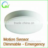 good quality balcony ceiling light IP44 with motion sensor