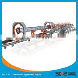 automatic cylindrical steel cage assembling machine for reinforced concrete pile prefabrication