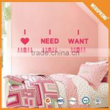 01-00125 Transparent sticker lover romantic wall stickers character wall stickers tree owls