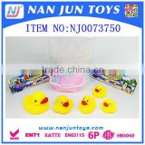 5 size bath duck plastic toy for kids