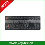 IP68 industrial custom layout membrane keyboard for food and beverage