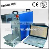 jewelry/gold/ring marking machine on key board metal Business Card plastic glass cup steel box in high precission