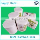 free sample wholesale 100% BIO nappy liner cloth Diaper liner disposable bamboo Liner manufacture on sale