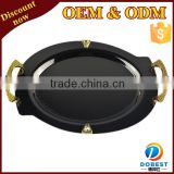 wholesale serving trays/wedding decoration plates/stainless steel tray for wedding T193-1