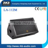 LA112M professional stage audio speakers, concert stage speakers, monitor audio speakers