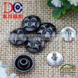 2016 decorative rivets garment rivet custom metal button for jean jacket