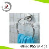 Bathroom Accessories Round Stainless Steel Towel Ring Bath Towel Ring