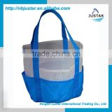 Storage Type, Wholesale Cheap Tote Bag Style Nylon Mesh Bag / Foldable Mesh Beach Towel Bag with Multi Pockets