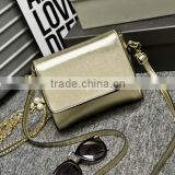 210 Classic gold sequin chains mini shoulder bag hand bangs 2015