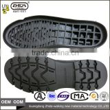 Rubber Outsole Material and rubber Insole Material men's business casual shoes outsole with single size 40