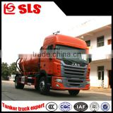 China good performance 3000L vacuum sewage suction tank truck of optional chassis
