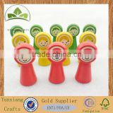 children toy big head smiling face wooden chess Board game accessories