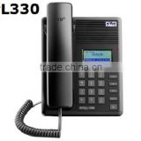 Koons PL330 VOIP Telephone /hotel intercom system /voip phone anatel Support bridge working vxworks OS IP phone