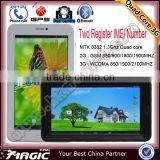 China cheapest 2g,3g tablet, 1G Memory, 8GB Storage tablet pc 3g sim card slot