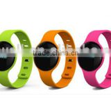 H18 Bluetooth smart bracelet silicon bracelet cicret with OLED Screen for Android,h18 smart watch for lady and boys
