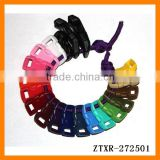 2014 cheap colorful plastic paracute bracelet buckles snap button wholesale many colors to choose ZTXR-072501