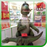 Theme Park & Exhibition Customized Animatronic Model Interaction Dinosaur with Stamp