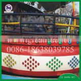 Thrilling outdoor amusement rides flying disk flying ufo rides