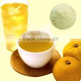 Colla Vita Yuzu Cha (instant citron tea) containing vitamin c, collagen beautifying skin tea
