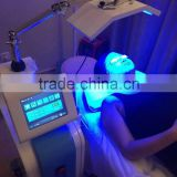 Blue 630nm Hot Sale Multifunction Facial Beautiful Pdt Led Microcurrent Machine For Sale Acne Removal