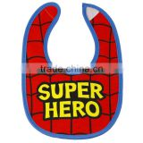hot sell cheap promotional custom print PEVA waterproof baby bibs