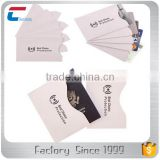 New production line with package rfid blocking sleeves including 10 credit card sleeves 2 passport sleeves