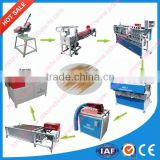 China TOP supplier for bamboo toothpick machine / bamboo stick making machine with whole project solutions
