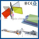 PC WAVE SHEET EXTRUDER,TRANSPARENT PC WAVE SHEET/PANEL MAKING LINE/ PC TRANSPARENT ROOF SHEET MAKING MACHINERY