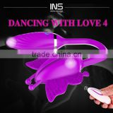INS Dancing with Love 4 New sex love remote control double vibrating eggs for woman