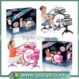 2015 Promotional Musical Instrument Toy Jazz Drum Kids electronic toy drum set
