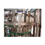 PLC 3-in-1 Washing Filling Capping Machine Carbonated Beverage Filling Machine for Bottle / Can