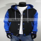 varsity jacket wholesale cotton bomber jackets
