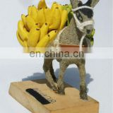 Ceramic Handmade Mini Donkey Figurine Unique Animal Folk Ethnic Tribal Sculpture Art Sale Crafts Collection Home Decoration Gift