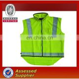 Safety warmer vest