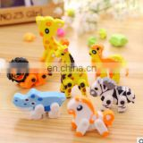 kawaii Cute animals rubber eraser creative stationery office school supplies creative gift