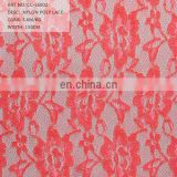 nylon/ polyester solid lace net lace fabric