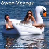 2016 New type White Inflatable Swan, 200cm Large inflatable water floats, Pool float