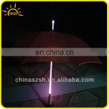 Shenzhen factory hot colorful LED umbrella for night