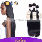 Best quality! Wholesale price ladystar skilky straight tangle free hair all size 100 human hair, hot selling peruvian hair