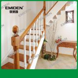 Shenzhen Yimeiden Supply Start Large Columns / Solid Wood Handrails Small Columns / Steel Wood Stairs