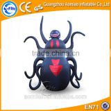 Decorative halloween inflatable spider made in china