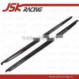 2012-2014 B STYLE CARBON FIBER SIDE SKIRTS FOR TOYOTA GT86 SCION FRS SUBARU BRZ (JSK242050)