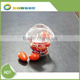 Clear takeaway plastic fresh fruit container with cover of various sizes from 4oz to 32oz supplied by Dongsu