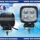 3 x 10 Watt DC10V-30V 40W LED square flood spot beam Work Light for station wagon trailer