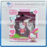 Mini Qute RC remote control flying Helicopter kawaii Hello kitty cartoon model plastic doll kids Electronic toys NO.TL607801