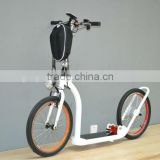 350w 2 big wheels electric sidekick bike new kickbike for sales dog scooter E bike (LDH-13)